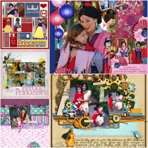 disney princess scrapbook tips