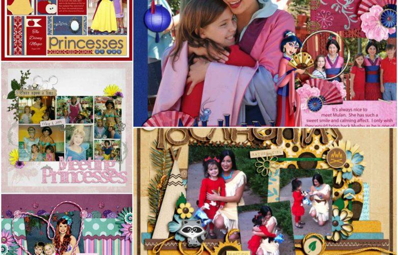 disney princess scrapbook tips