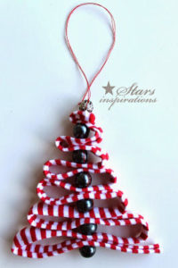 christmas tree shaped ornament 1