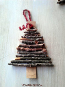 christmas tree shaped ornament 2