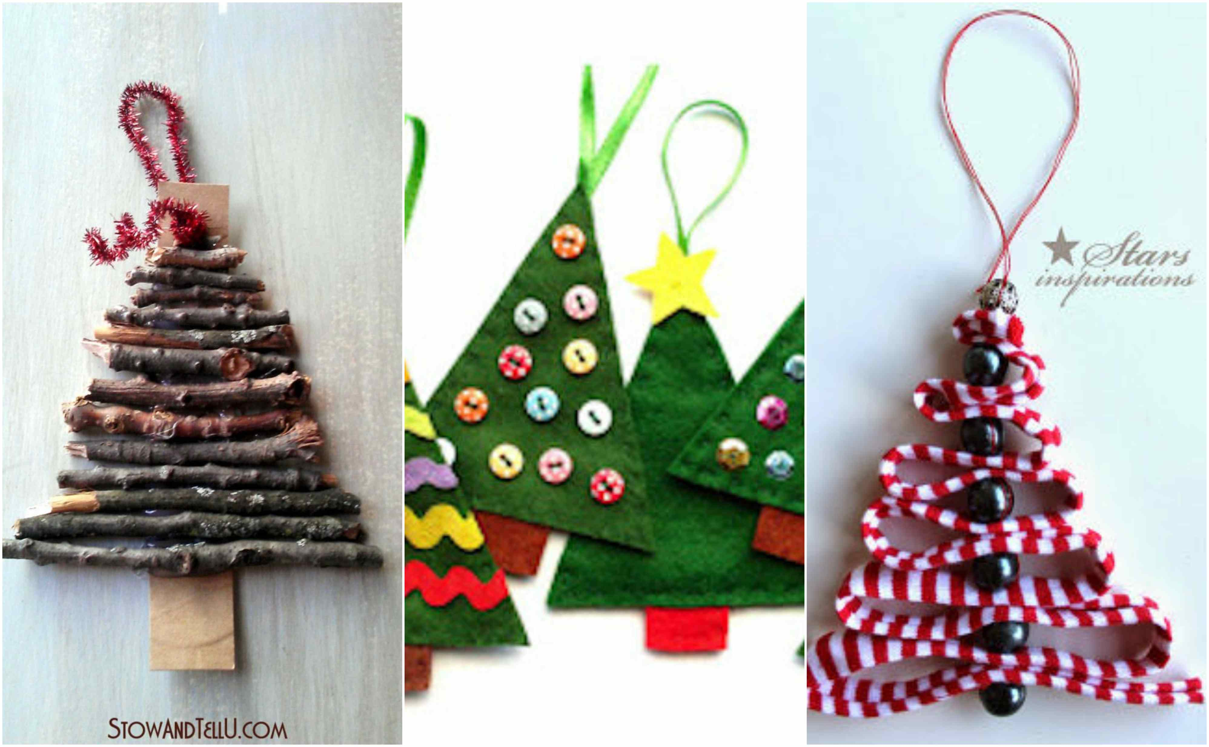 christmas tree ornaments christmas tree shape tree easy christmas ornaments