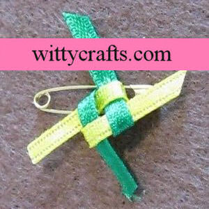 friendship knot girl scout swap idea