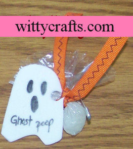 halloween girl scout swaps ghost poop