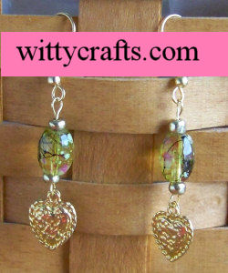 make beaded earrings