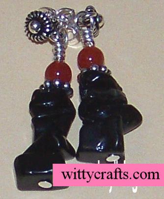 make beaded earrings, bead earring tutorial
