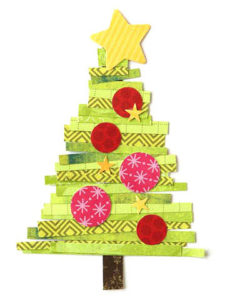 Free Christmas Paper Piecing Patterns for Scrapbooks
