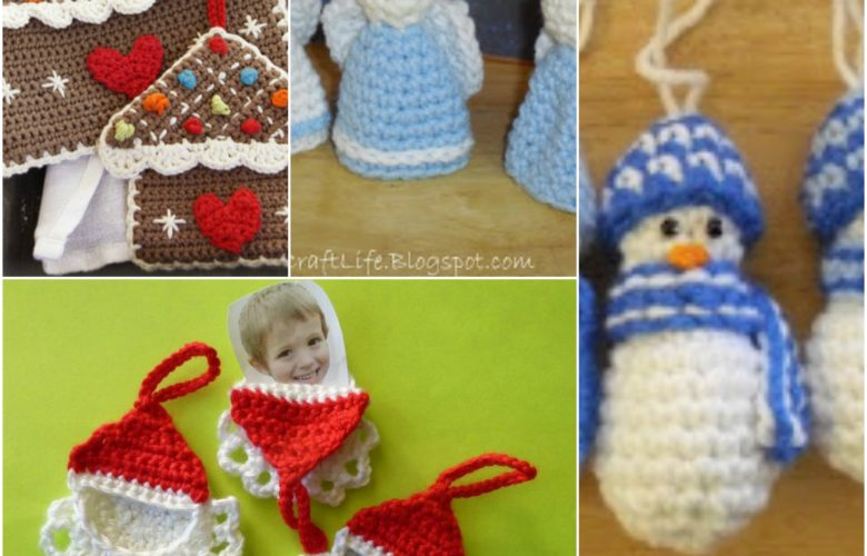 free christmas ornaments crochet patterns
