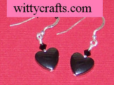 heart beaded earring tutorial
