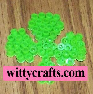 Shamrock St. Patrick's Day Perler Bead Pattern