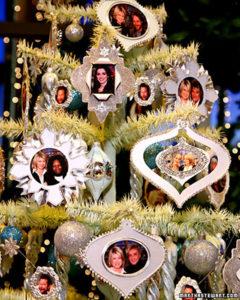 martha stewart photo christmas tree ornament
