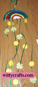 Make a St Patricks Rainbow Craft