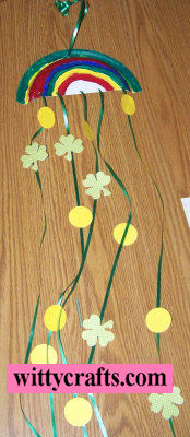 Make a St Patricks Rainbow Craft