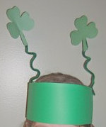 Make a St Patricks Shamrock Antenna Craft - Kids Crafts for Kids to Make