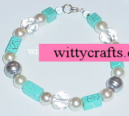 Party and Pearl Bead Bracelet – Make a Beaded Bracelet Project