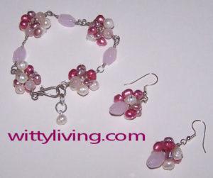 beaded earrings bracelet tutorial