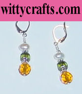 make beaded earrings tutorial