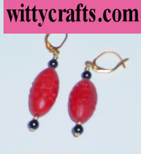 beaded earrings tutorial