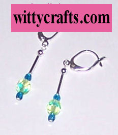beaded earrings, make dnagle earrings