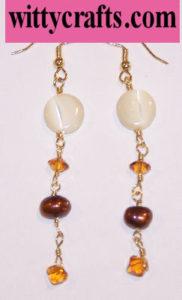 make dangle earrings