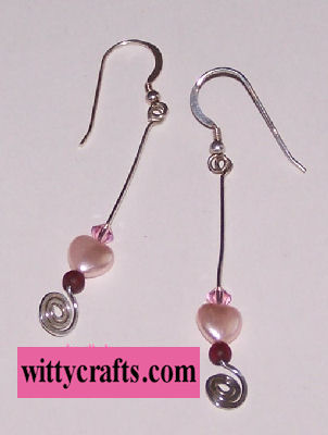 wire wrap earrings to make