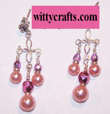 make pearl earrings