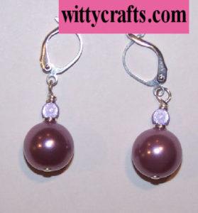 easy beaded earrings to make