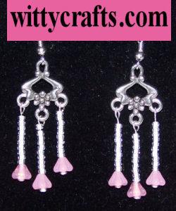 make flower earrings