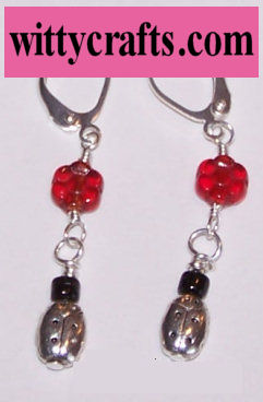 simple beaded earrings to make
