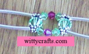 make beaded bracelet