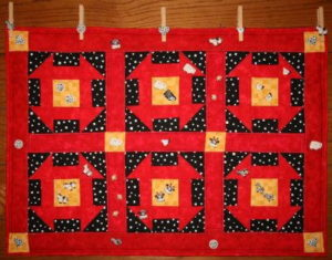 free quilted wall hanging pattern hole in barn door