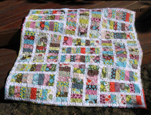 free jelly roll quilt pattern project