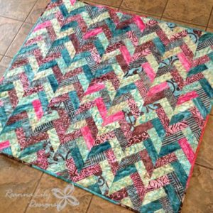 jelly roll quilt pattern tutorial