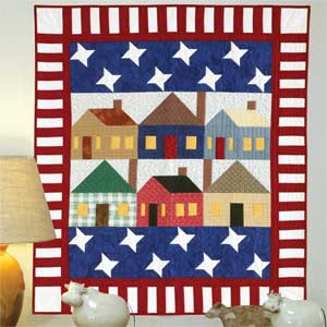 free quilted wall hanging pattern patriotic usa july 4th