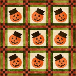 Free Halloween Quilt Patterns - WittyCrafts com