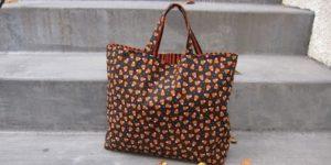 reversable free sewing pattern halloween bag