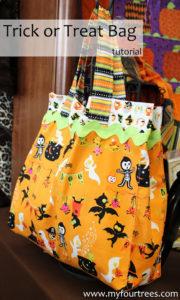 ric rac free sewing pattern halloween bag