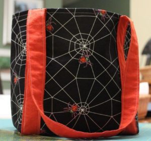 strong small free sewing pattern halloween bag