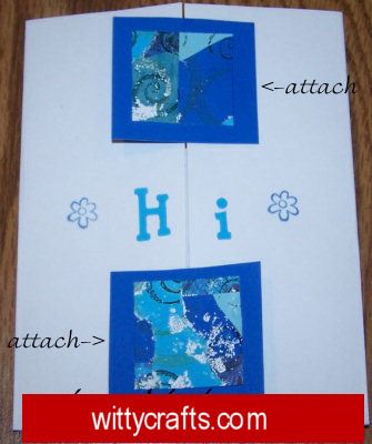 Handmade Card Making: Greeting Card with Serendipity Paper