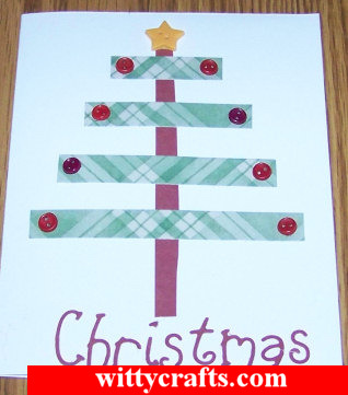 Handmade Christmas Card Making: Holiday Tree